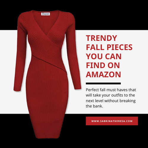 Sabrina Theresa Amazon Fall Outfits