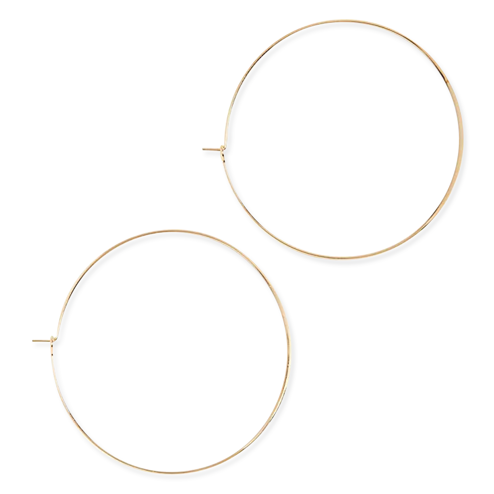 Sabrina Theresa Jules Smith Gold Hoop Earrings