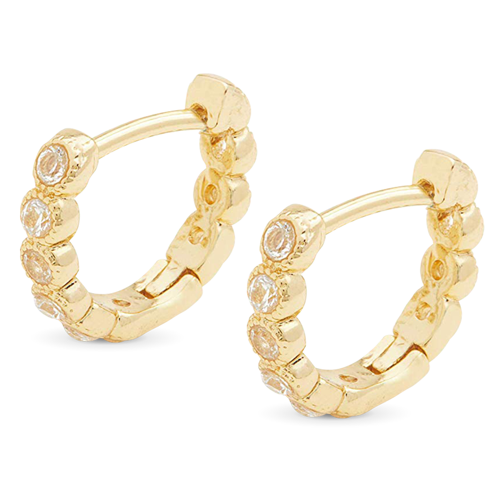 Sabrina Theresa Gorjana Gold Hoop Earrings