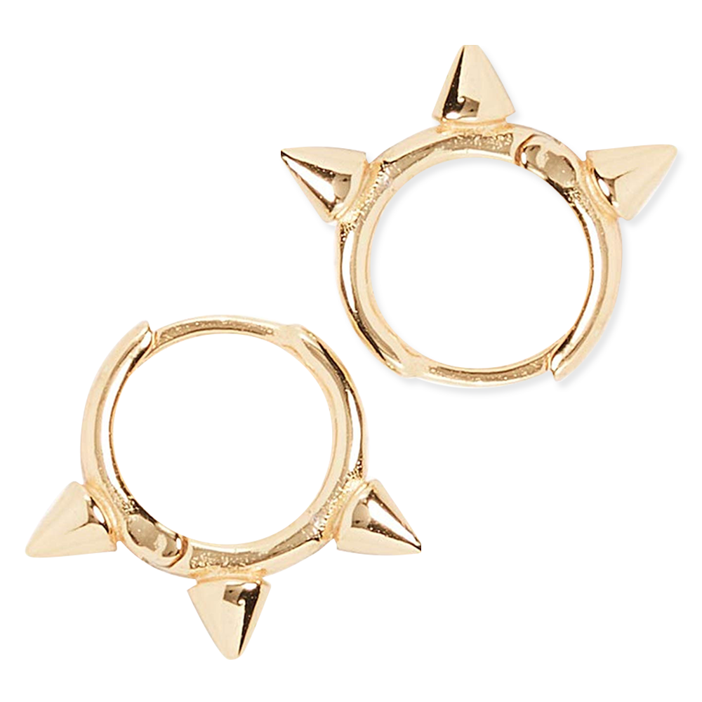 Sabrina Theresa Shashi Gold Hoop Earrings